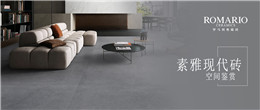 罗马利奥素雅现代砖|喜爱极简风的你一定不要错过